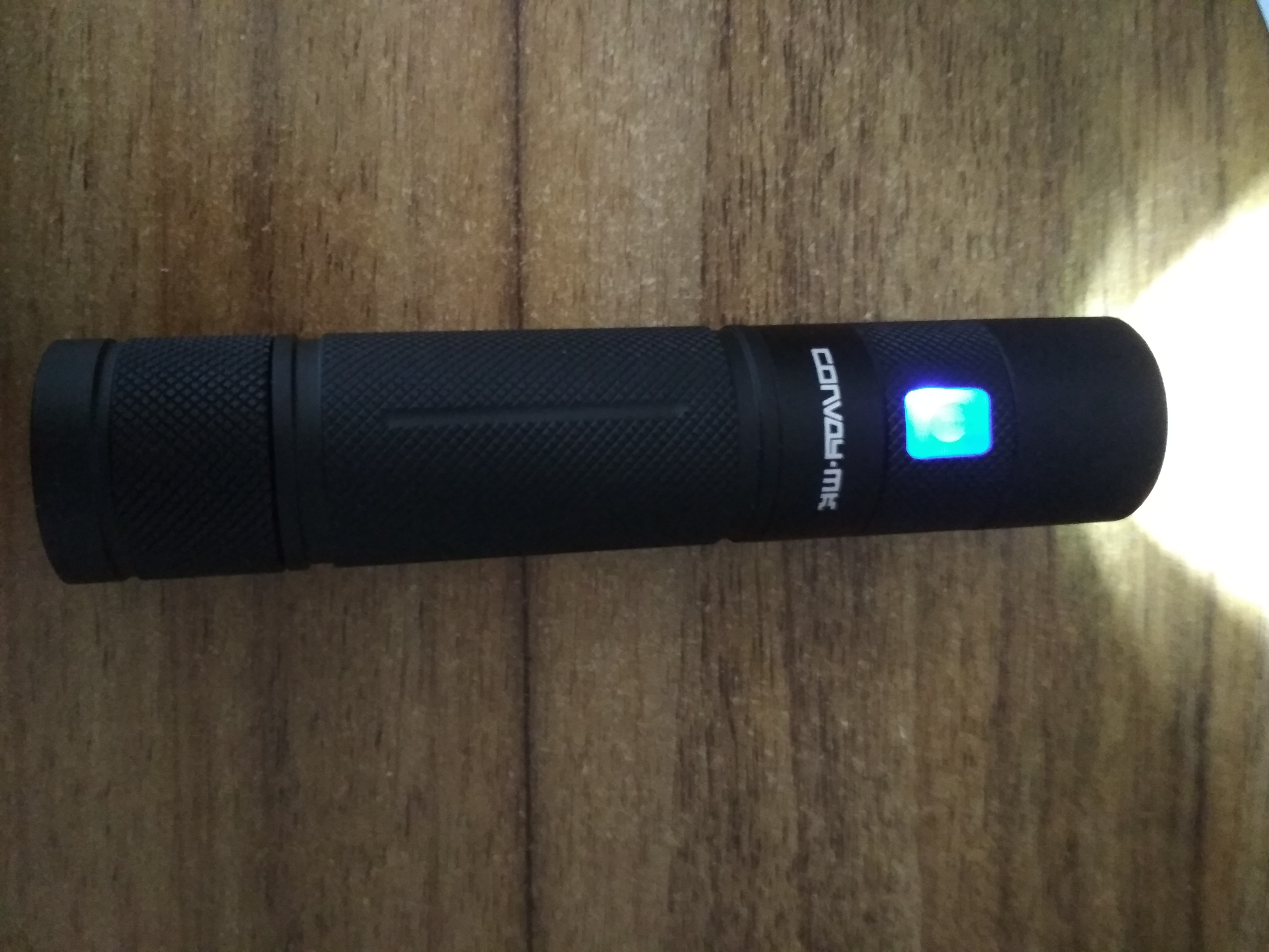 Convoy MK usb rechargeable light